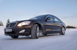 Continental Tyres winter testing, 2018, Mercedes E-Class