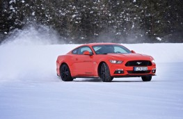 Continental Tyres winter testing, 2018, Ford Mustang