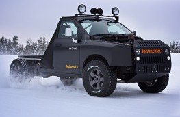 Continental Tyres winter testing, 2018, Dodge RAM