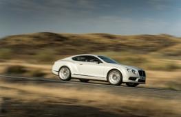 Bentley Continental GT V8, side