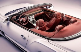 Bentley Continental GT Convertible, 2019, overhead, interior