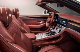 Bentley Continental GT Convertible, 2019, interior
