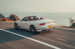 Bentley Continental GT Convertible, 2019, rear