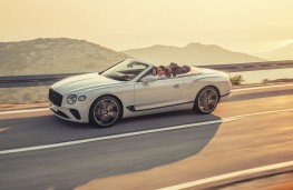 Bentley Continental GT Convertible, 2019, side