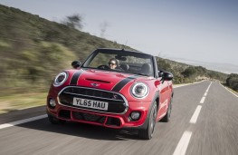 MINI Cooper S Convertible, front, action