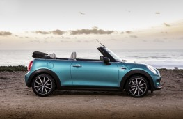 MINI Cooper Convertible, 2016, side, roof down