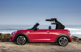 MINI Cooper S Convertible, roof retraction