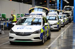 Vauxhall police car factory