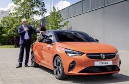 Vauxhall Corsa-e, 2019, with Mark Adams