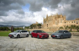 Toyota Corolla, 2019, line up, estate, hatch, saloon