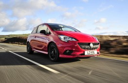 Vauxhall Corsa, 2018, front