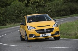 Vauxhall Corsa GSi, 2018, front, action