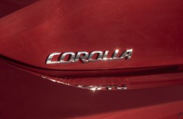 Toyota Corolla hatch, 2019, badge