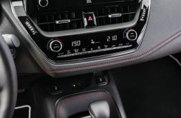 Toyota Corolla, display screen
