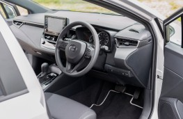 Toyota Corolla Commercial, 2021, interior