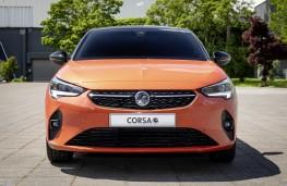 Vauxhall Corsa-e, 2019, nose