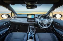 Toyota Corolla, interior