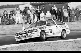 Toyota Corolla GT, Brtish Touring Car Championship 1986
