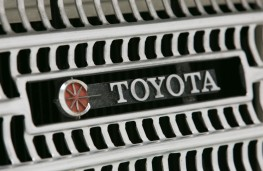 Toyota Corona, 1967, grille