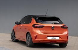 Vauxhall Corsa-e, 2019, rear