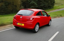 Vauxhall Corsa, Paris reveal, rear