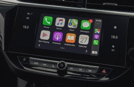 Vauxhall Corsa GSi, 2018, display screen