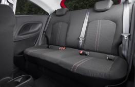 Vauxhall Corsa, 2019, rear seats