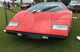 Cholmondeley Power and Speed 2016, Lamborghini Countach LP400 Periscopo, 1977