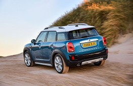 MINI Countryman, 2016, rear, action