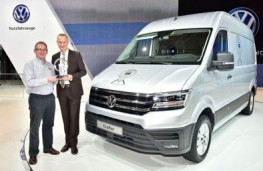 Volkswagen Crafter, International Van of the Year 2017, presentation