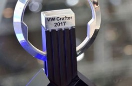 International Van of the Year trophy