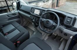 Volkswagen Crafter, 2017, interior