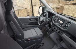 Volkswagen Crafter, 2017, interior, manual