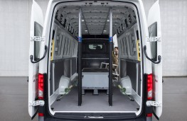 Volkswagen Crafter, 2017, load space