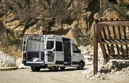 Volkswagen Crafter, 2017, rear, doors open