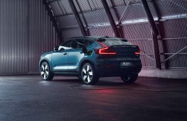 Volvo C40 Recharge, 2021, rear, charging