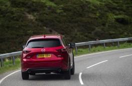 Mazda CX-5, 2018, rear
