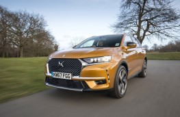 DS 7 Crossback, 2018, front, action