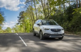 Vauxhall Crossland X, 2017, front, action 1