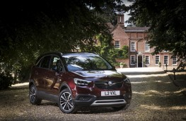 Vauxhall Crossland X, 2018, front, static