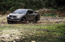 Fiat Fullback Cross, 2017, side, off road