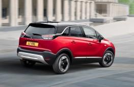 Vauxhall Crossland, 2020, rear