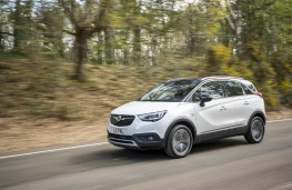 Vauxhall Crossland X, 2017, side, action 1
