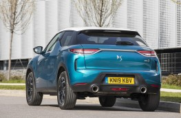DS 3 Crossback, 2019, rear, action