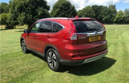 Honda CR-V, 2017, rear
