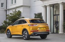 DS 7 Crossback, 2018, rear, static