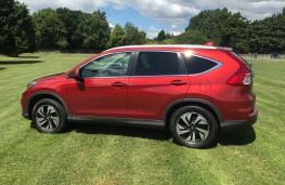 Honda CR-V, 2017, side
