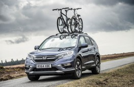 Honda CR-V, front, static