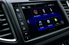 Honda CR-V, touchscreen