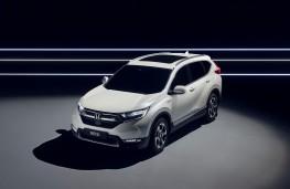 Honda CR-V hybrid prototype, 2017, front
